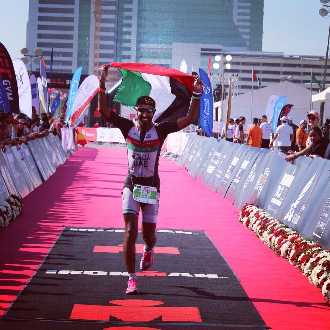 عبدالله اللقيطي يتأهل لبطولة العالم للرجل الحديدي - نيوزلندا
