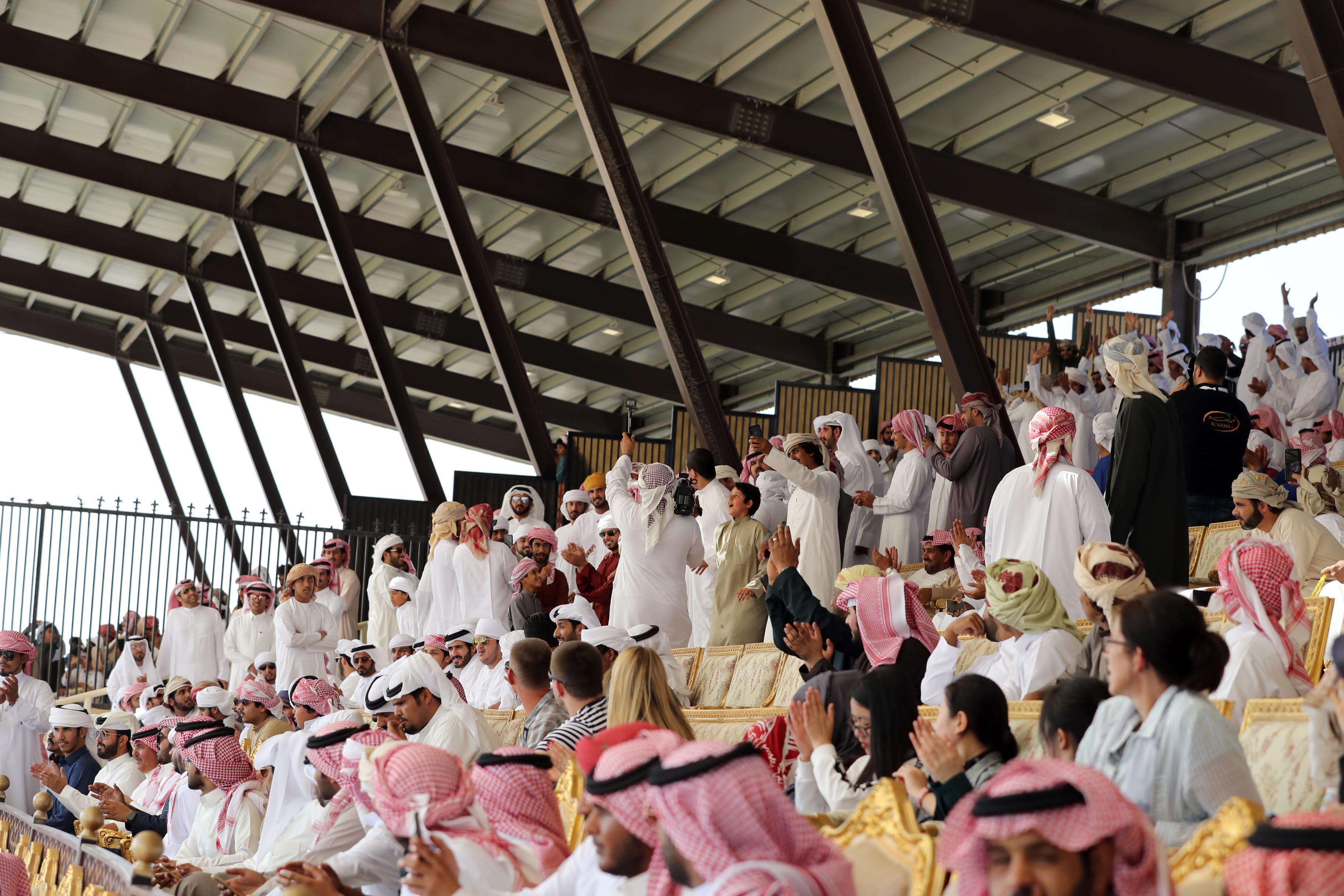 مهرجان الظفرة يواصل فعالياته الفنية والتراثية الشيقة