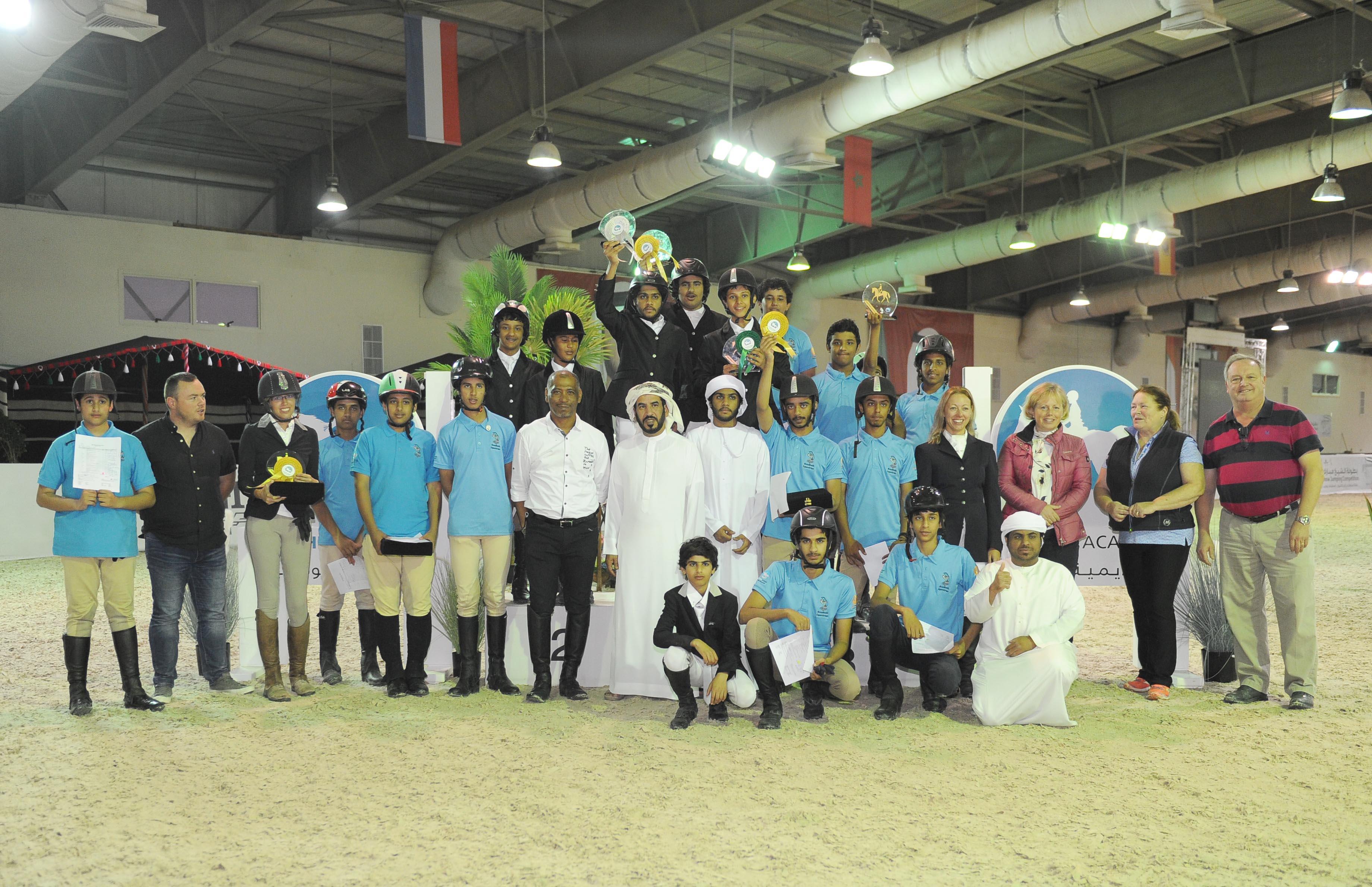 نادي تراث الإمارات يختتم بطولة بوذيب لترويض الخيول