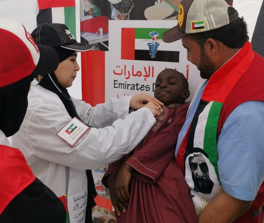 تقرير / حملة الشيخة فاطمة الانسانية تمكن شباب الامارات من التخفيف من معاناة مليون طفل وامرأة في عام التسامح