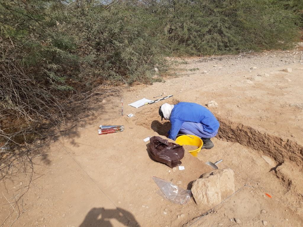 """آثار رأس الخيمة تبدأ عمليات دراسة موسعة في مستوطنة"""" شمل"""""""