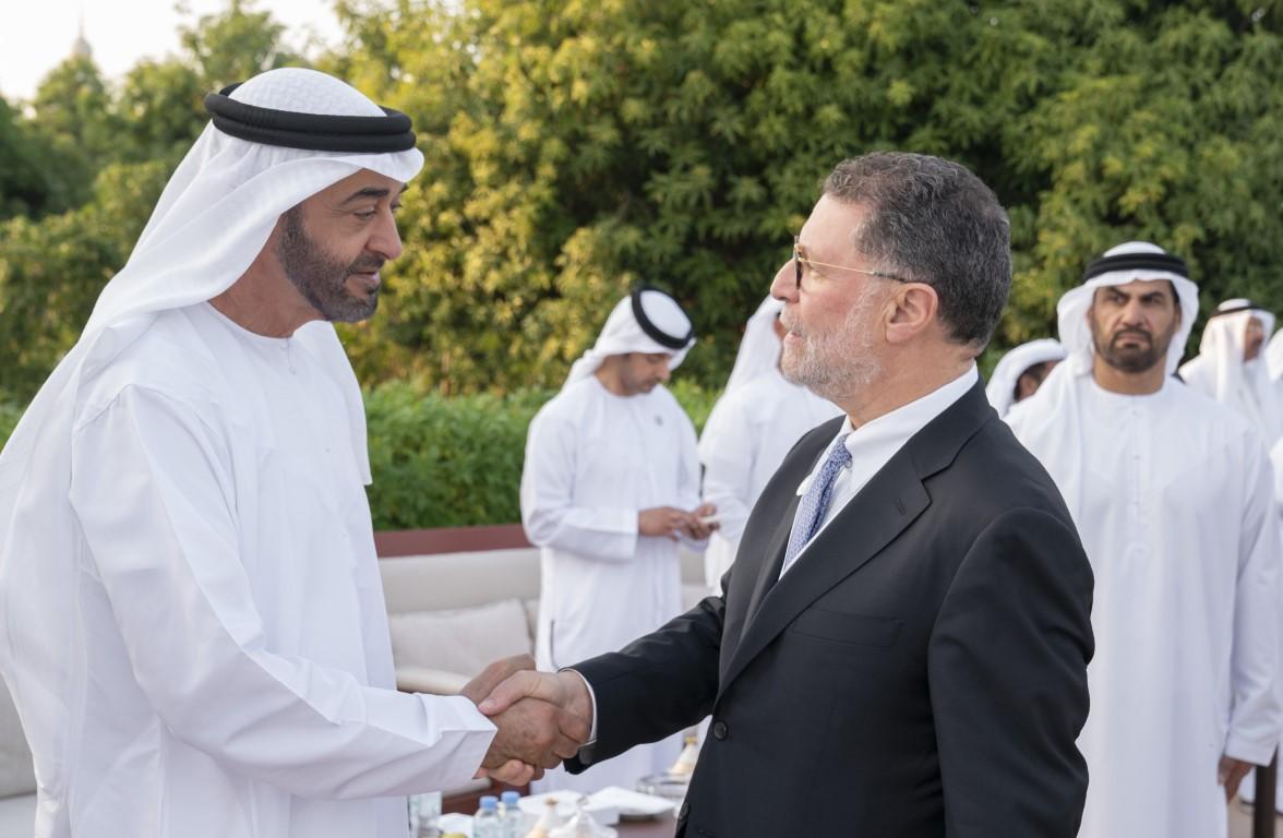 محمد بن زايد يستقبل المشاركين بالمنتدى السادس لتعزيز السلم في المجتمعات المسلمة
