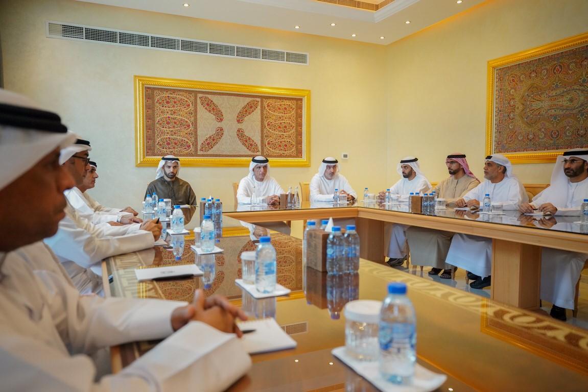 سعود بن صقر يترأس اجتماع المجلس التنفيذي لإمارة رأس الخيمة