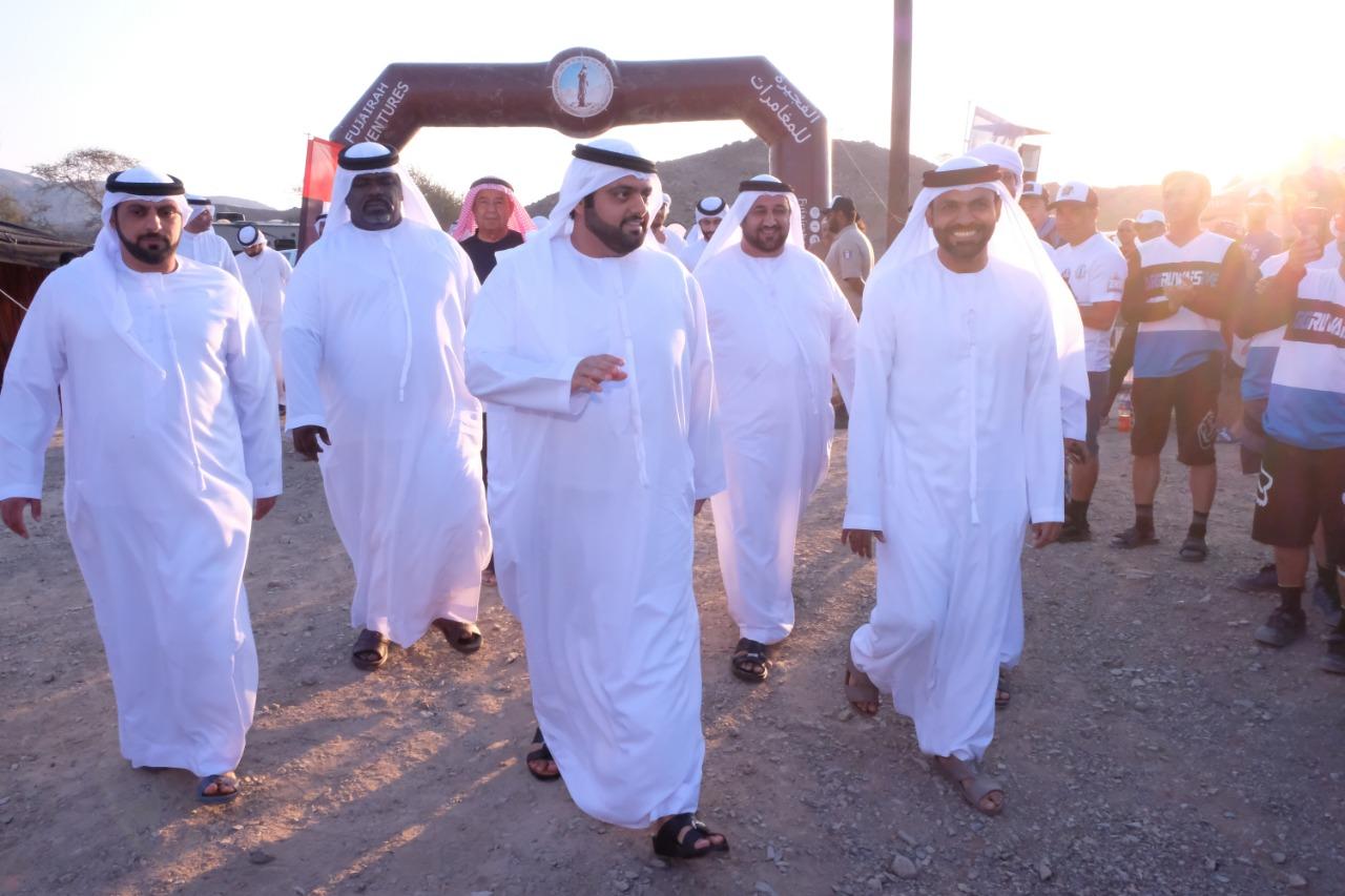 """محمد بن حمد الشرقي يتوج أبطال """"الفجيرة للدراجات الجبلية"""""""