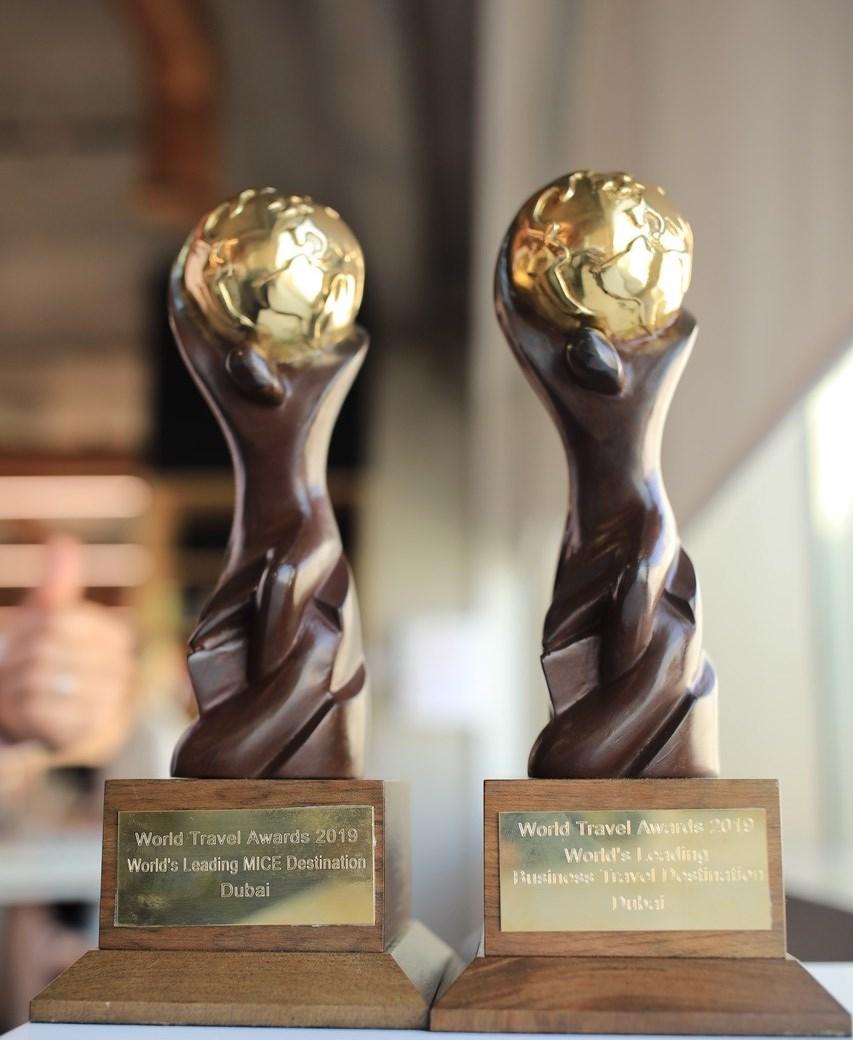 """دبي تفوز بجائزتين ضمن """"جوائز السفر العالمية 2019"""""""
