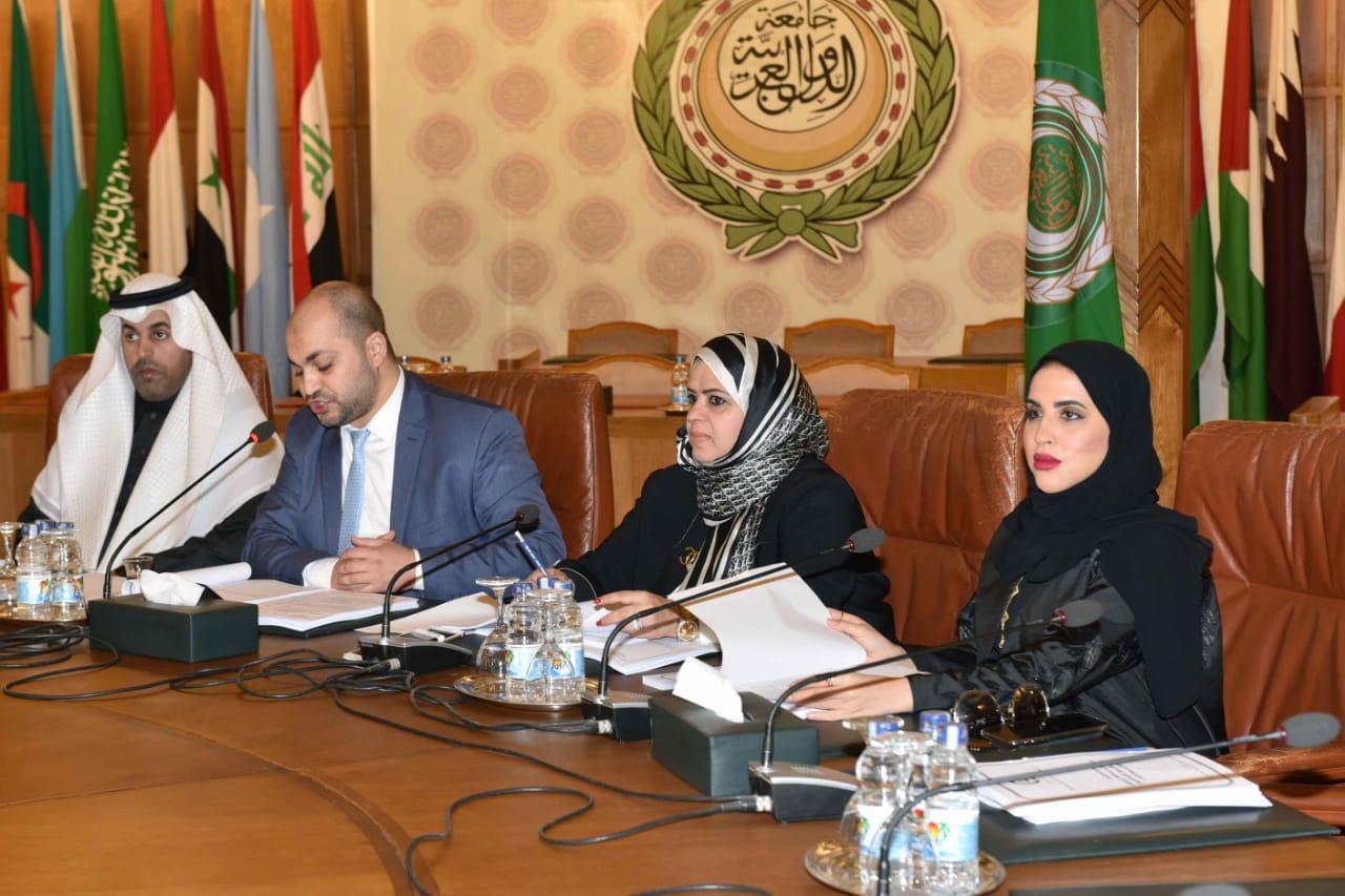 الشعبة البرلمانية الإماراتية للمجلس الوطني الاتحادي يشارك في أعمال اللجان الاربع التابعة للبرلمان العربي-1