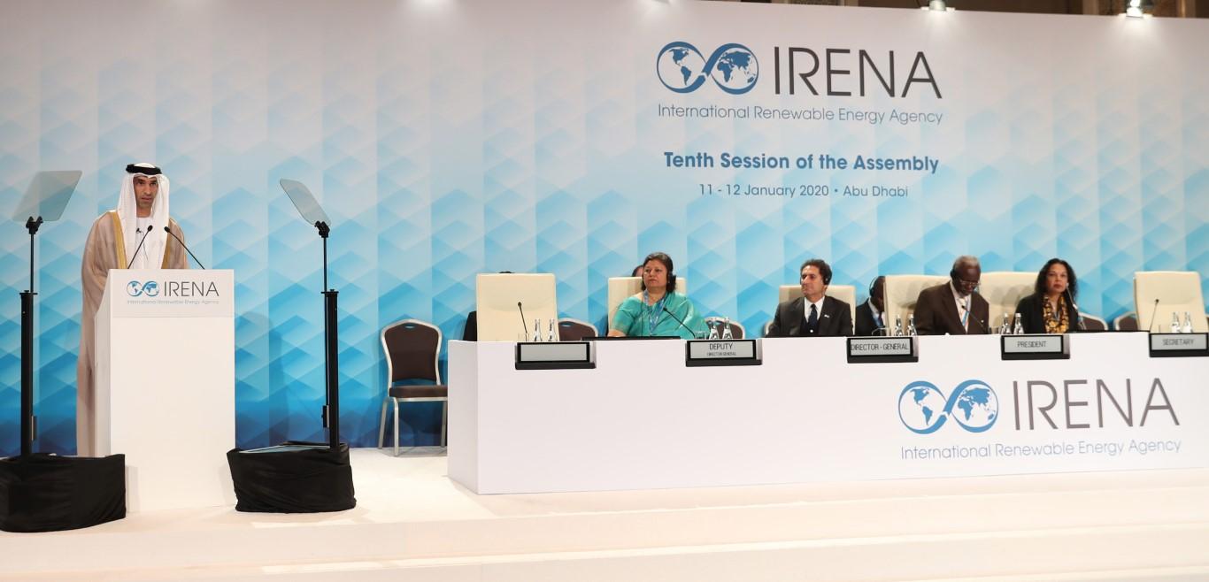 """انطلاق أعمال الجمعية العامة العاشرة لـ """"آيرينا"""" في أبوظبي"""
