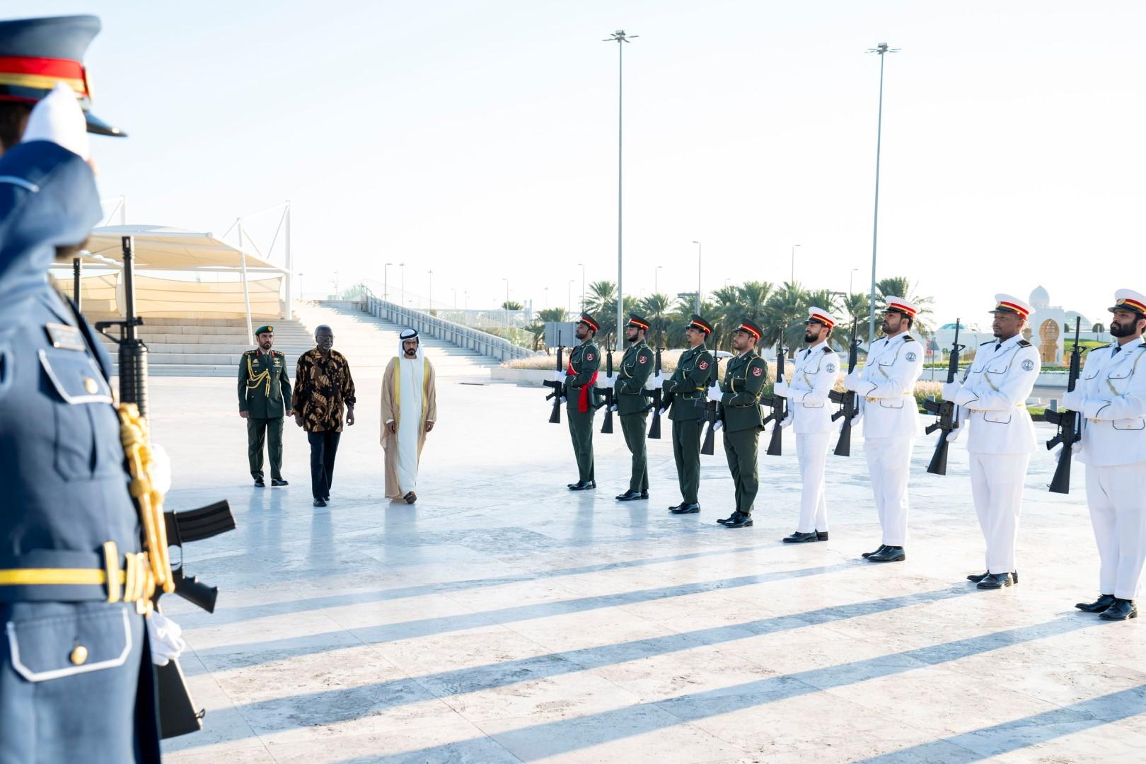 نائب رئیس الوزراء الأوغندي يزور واحة الكرامة