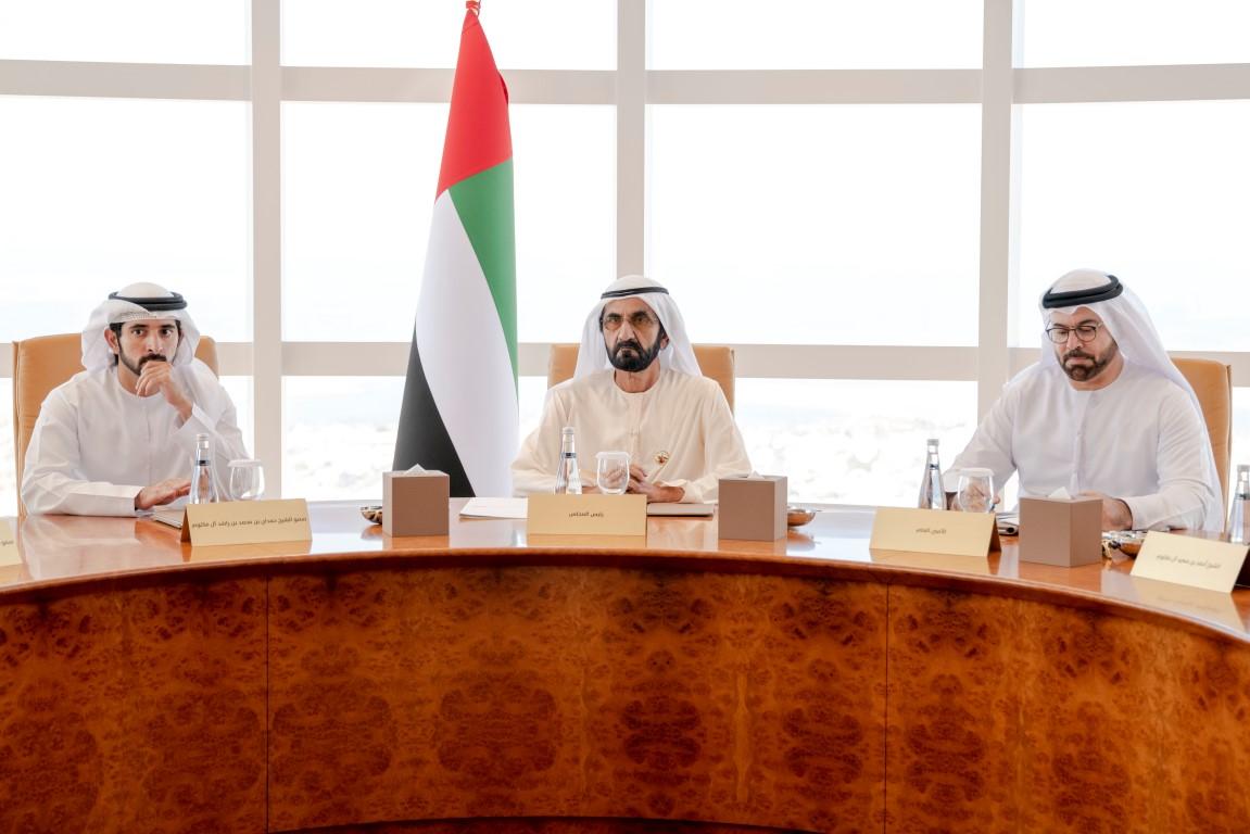 محمد بن راشد يترأس الاجتماع الأول لمجلس دبي