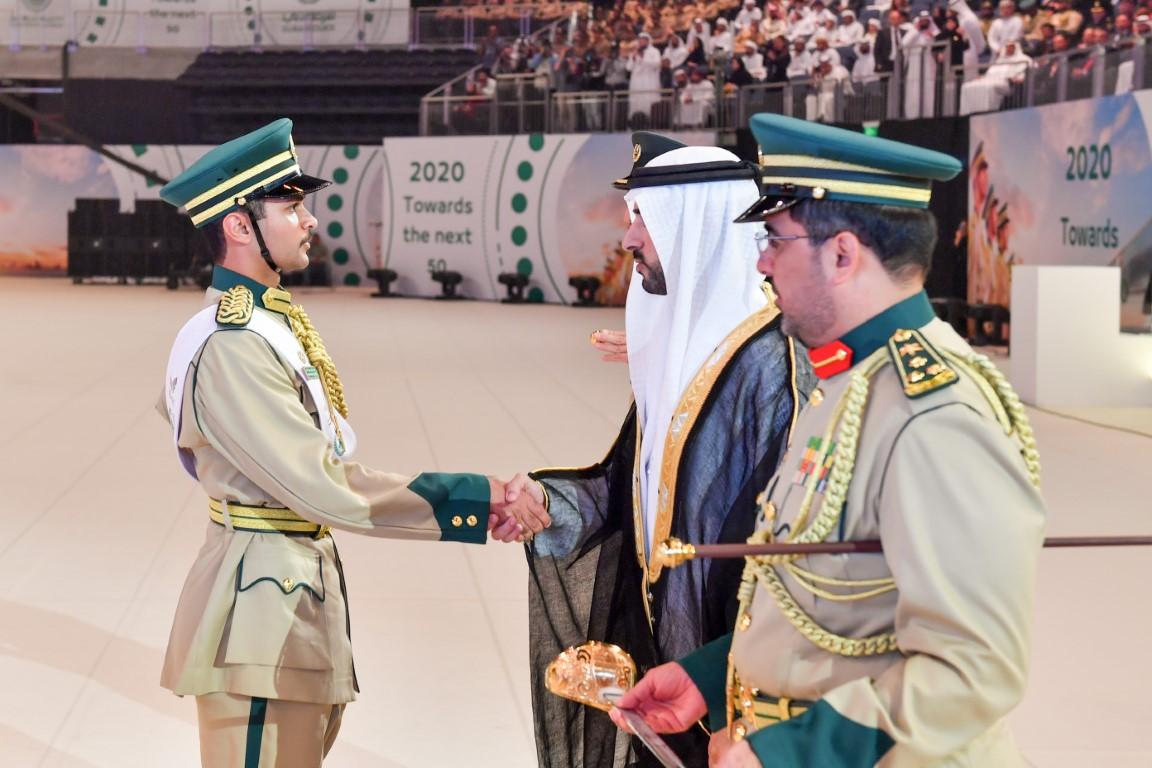 حمدان بن محمد يرعى حفل تخريج الدفعة الـ27 من الطلبة المرشحين بأكاديمية شرطة دبي