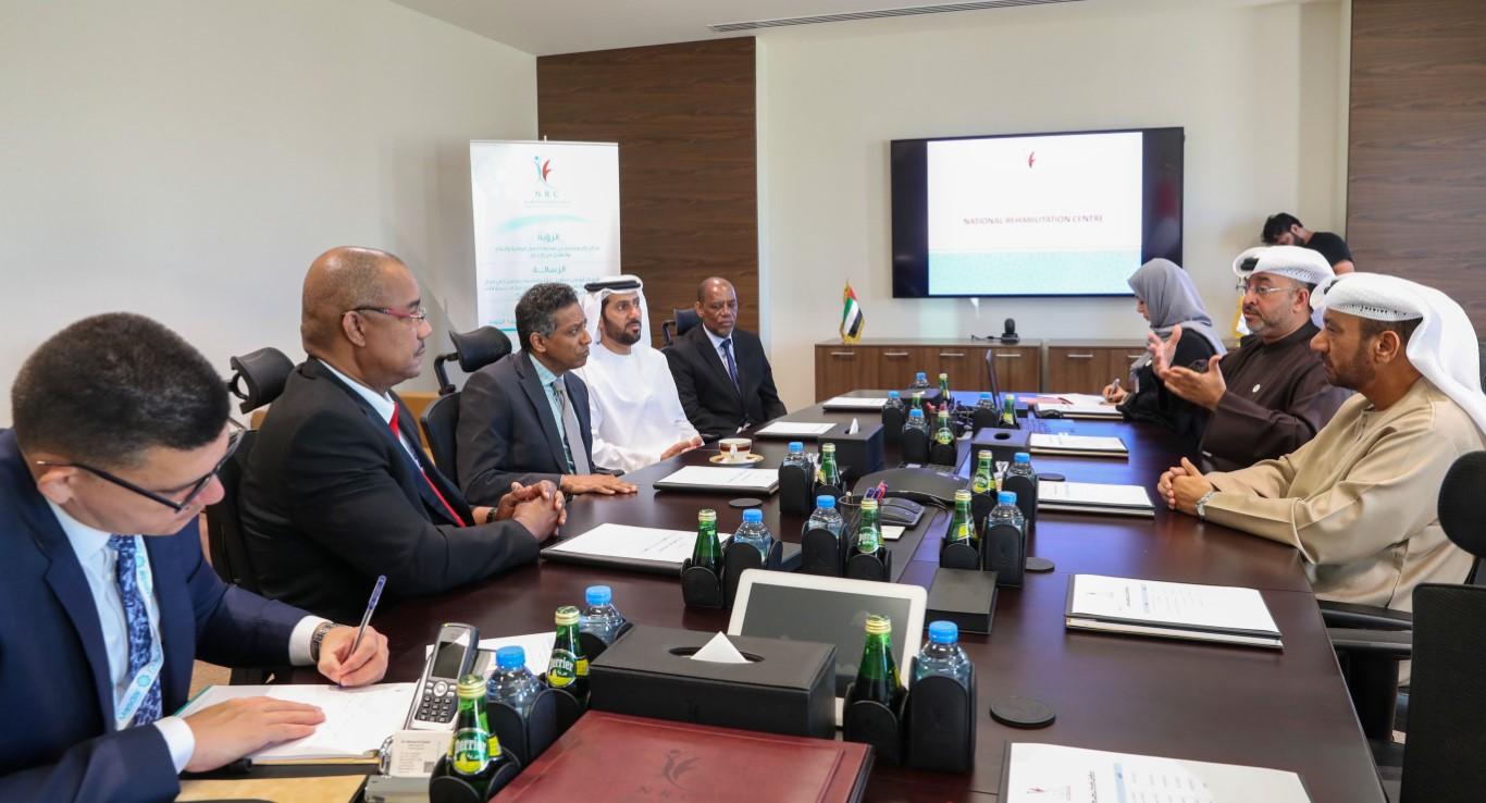 الرئيس داني فور : الإمارات تمول وتشرف على انشاء مركز تأهيل في سيشيل