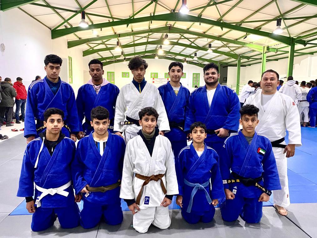 اعتماد تشكيل بعثة الجودو للمراحل السنية إلى البطولة العربية بالكويت