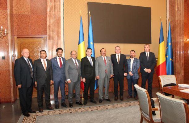 رئيس وزراء رومانيا وسفير الدولة يبحثان تعزيز التعاون الاستثماري