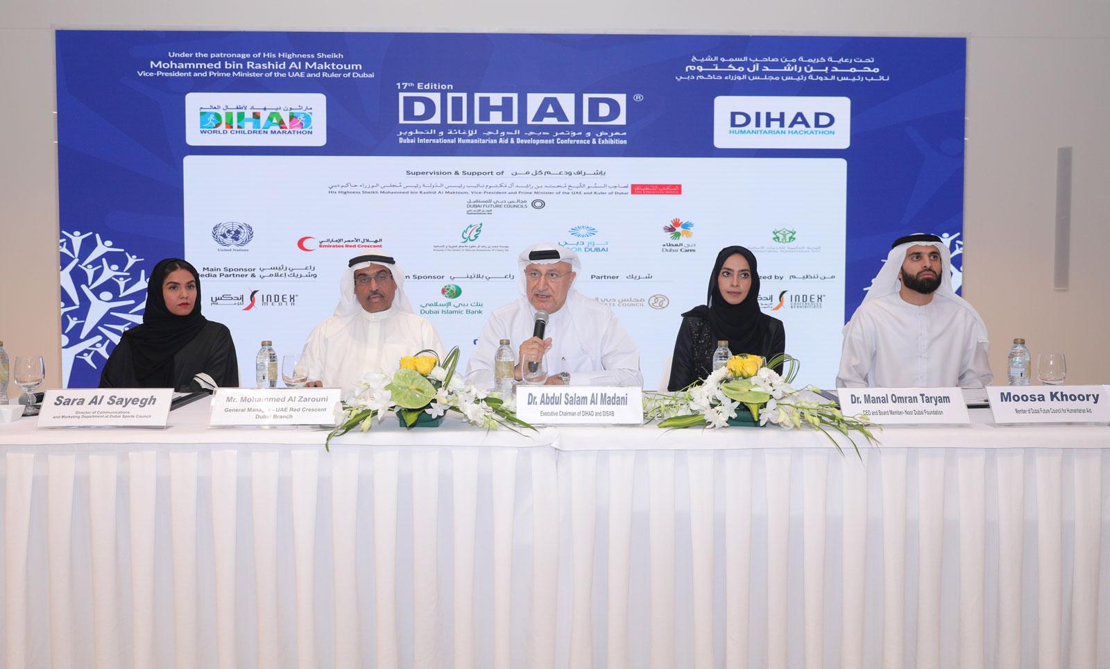 dihad hosts humanitarian week in dubai in march 1