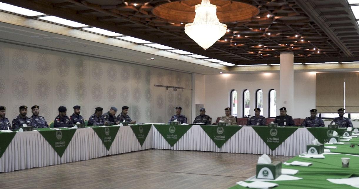 """لجنة مقيمي""""تمرين أمن الخليج 2 """" تعرض أسس ومعايير التقييم وفق الأداء المؤسسي"""