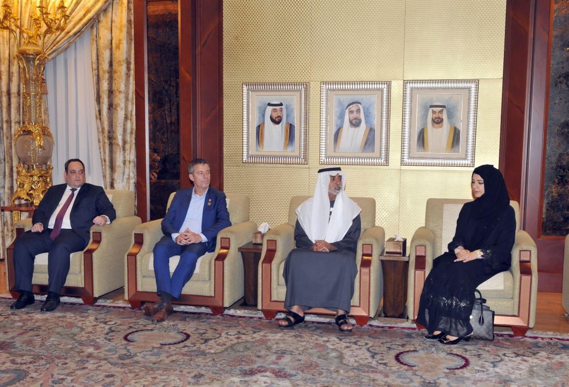 نهيان بن مبارك يحضر الاجتماع الأول للجنة تسيير إكسبو 2020 دبي