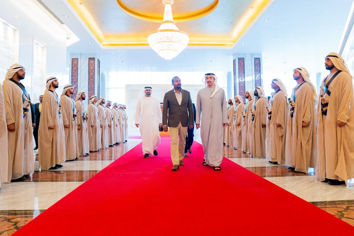 رئيس وزراء أثيوبيا يصل إلى البلاد