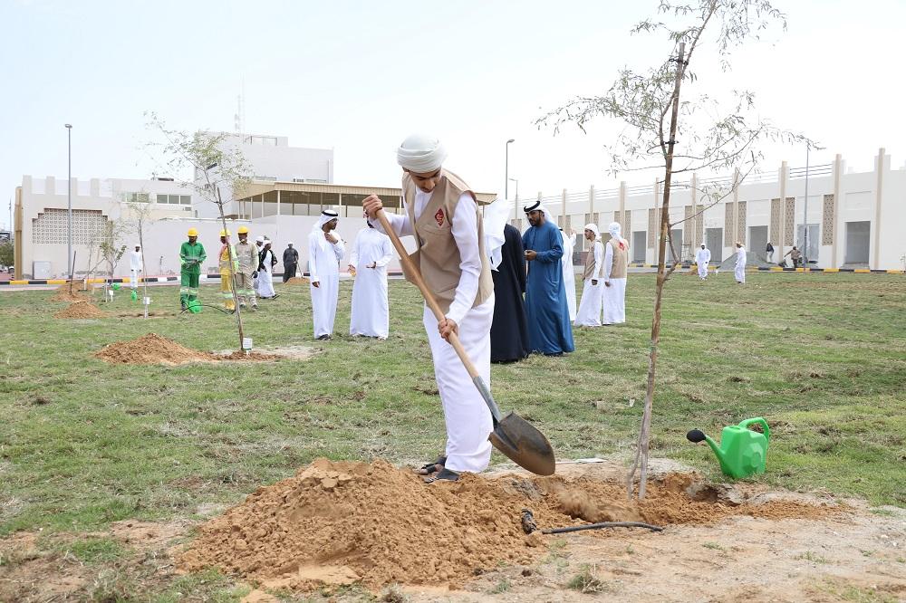 بلدية دبا الحصن تختتم مشاركتها في اسبوع التشجير الـ 40