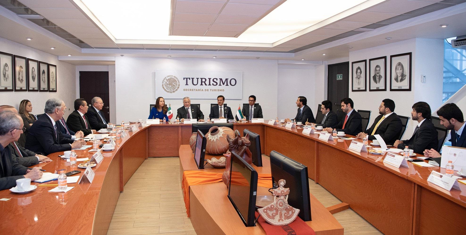 مباحثات موسعة بين الإمارات والمكسيك لتنمية أوجه التعاون الاقتصادي