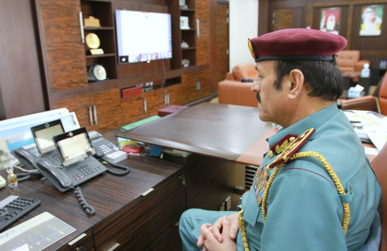 مجلس قيادات الشرطة يناقش خلال اجتماعه عن بعد إجراءات استمرارية الأعمال