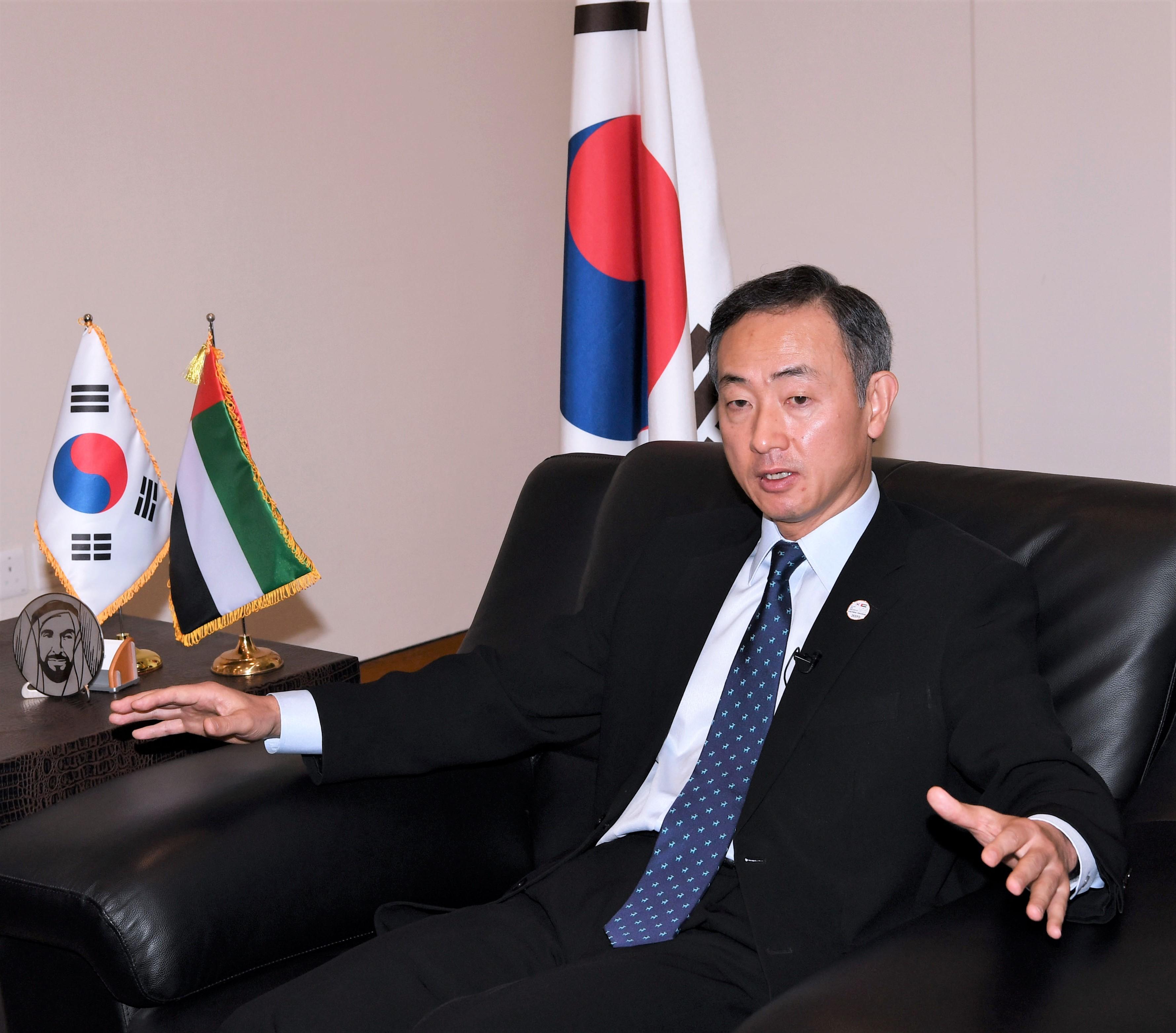 مع سفير كورية الجنوبية ----3