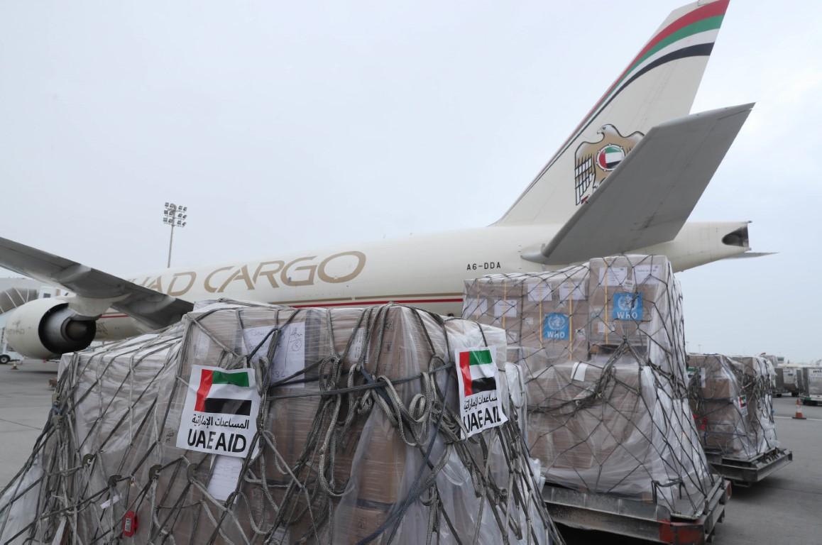 الإمارات ترسل طائرة مساعدات إلى إثيوبيا لدعمها في مكافحة فيروس كورونا