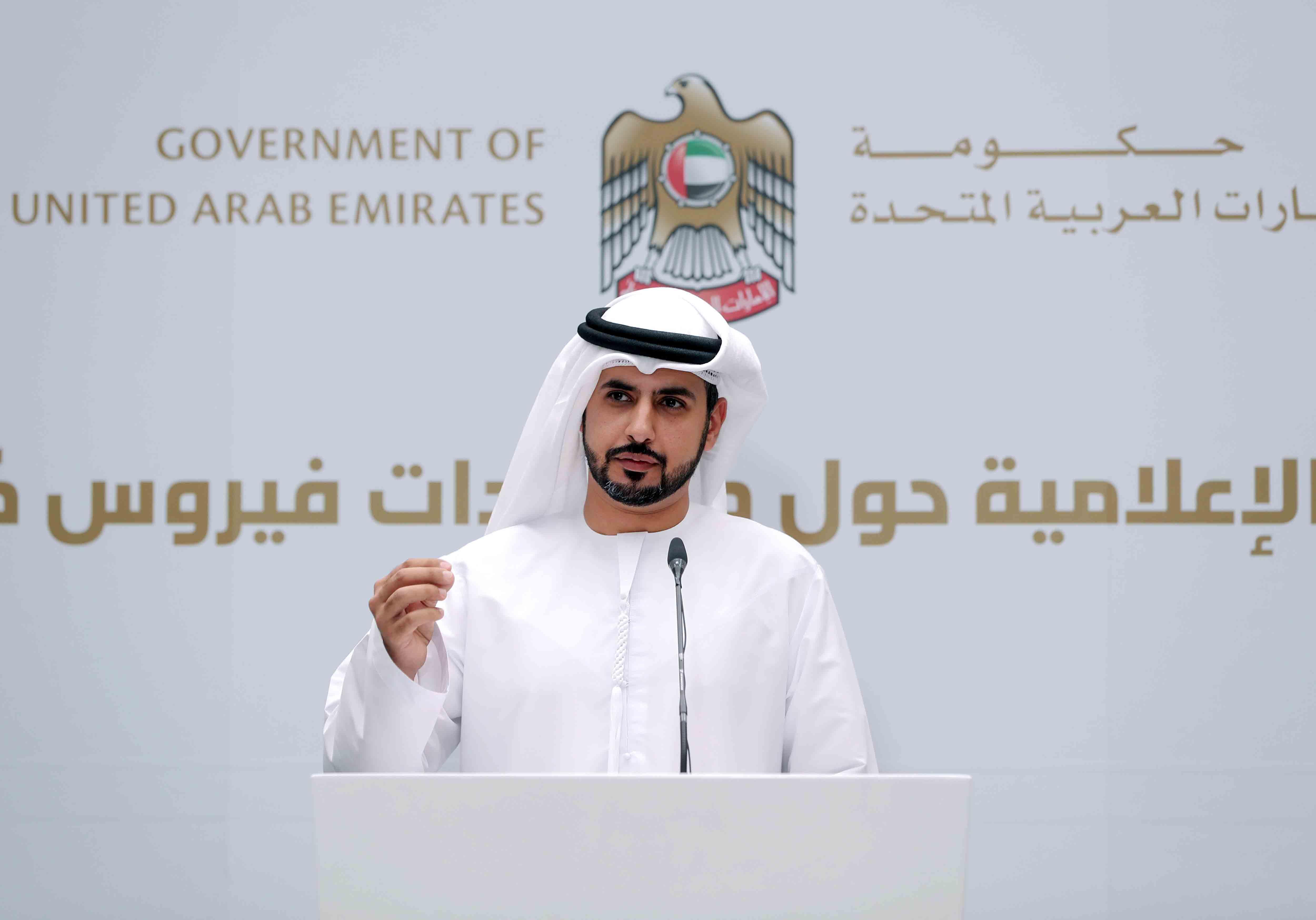 وزيرالصحة ووقاية المجتمع :أكثر من نصف مليون فحص طبي لفيروس كورونا في الإمارات وتوسيع نطاق الفحوصات خلال الفترة القادمة