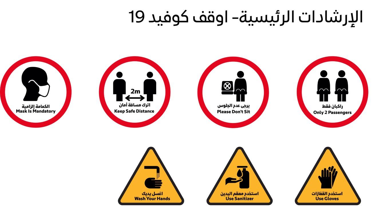 """دبي تعتمد دليل الرموز الارشادية الموحد لممارسات مكافحة انتشار """"كورونا"""""""