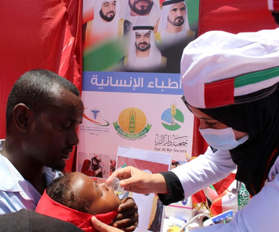 """"""" برنامج الشيخة فاطمة للتطوع """" جهود عالمية رائدة على صعيد العمل الصحي التطوعي"""