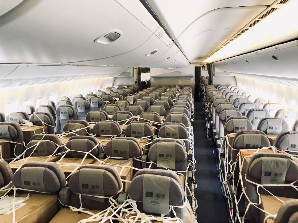 الإمارات للشحن الجوي تشغل نحو 100 رحلة شحن يوميا وتخدم 65 مدينة عبر العالم