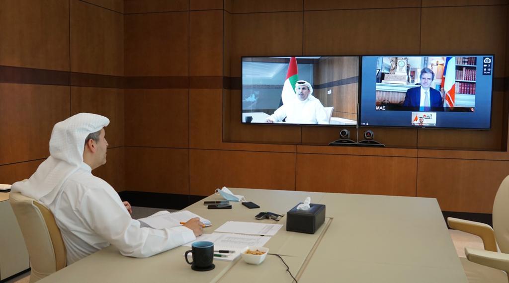 الاجتماع الثاني عشر للحوار الاستراتيجي الإماراتي - الفرنسي يعتمد خطة عمل ثنائية طموحة للسنوات العشر القادمة
