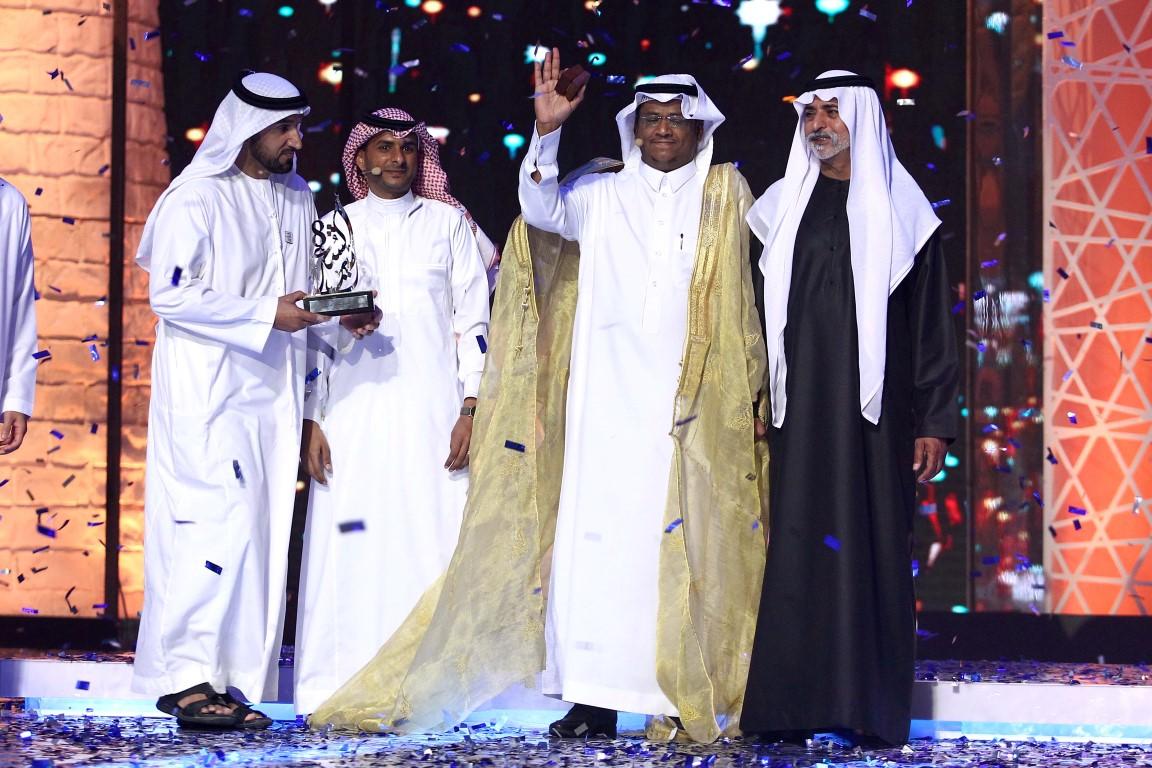 """""""برنامج أمير الشعراء"""" يفوز بجائزة أفضل مبادرة في خدمة الشعر العربي"""