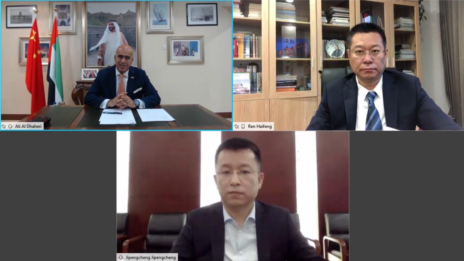 زكي نسيبة يشيد بنجاح أسبوع الثقافة الافتراضية الإماراتي الصيني