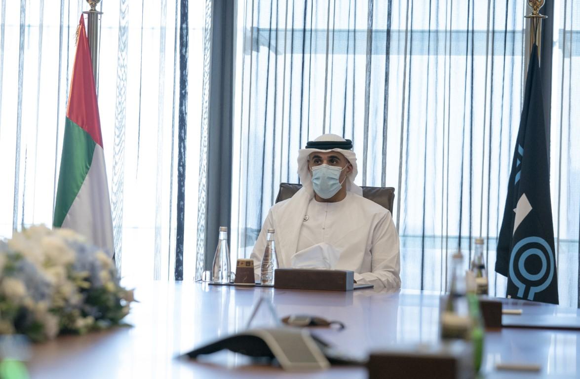 خالد بن محمد بن زايد يطلع على نتائج الاندماج الذي أنجزته شركة أبوظبي الوطنية للطاقة