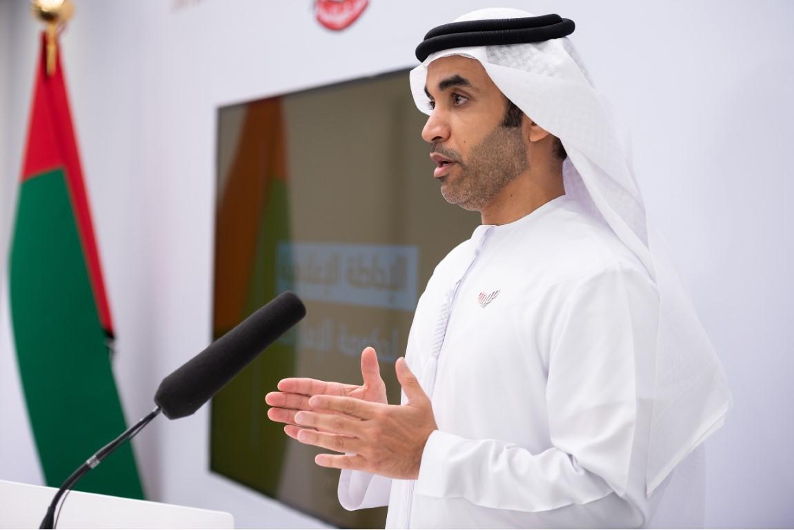 خلال الإحاطة الإعلامية لحكومة الإمارات حول مرض كوفيد 19 : الإمارات تجري أكثر 3.5 مليون فحص طبي لفيروس كورونا المستجد