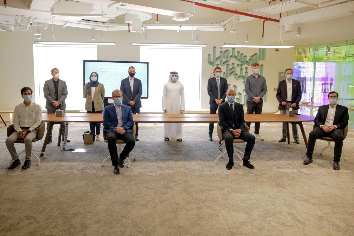 حمدان بن محمد يطلق التحالف الاستراتيجي للطباعة ثلاثية الأبعاد