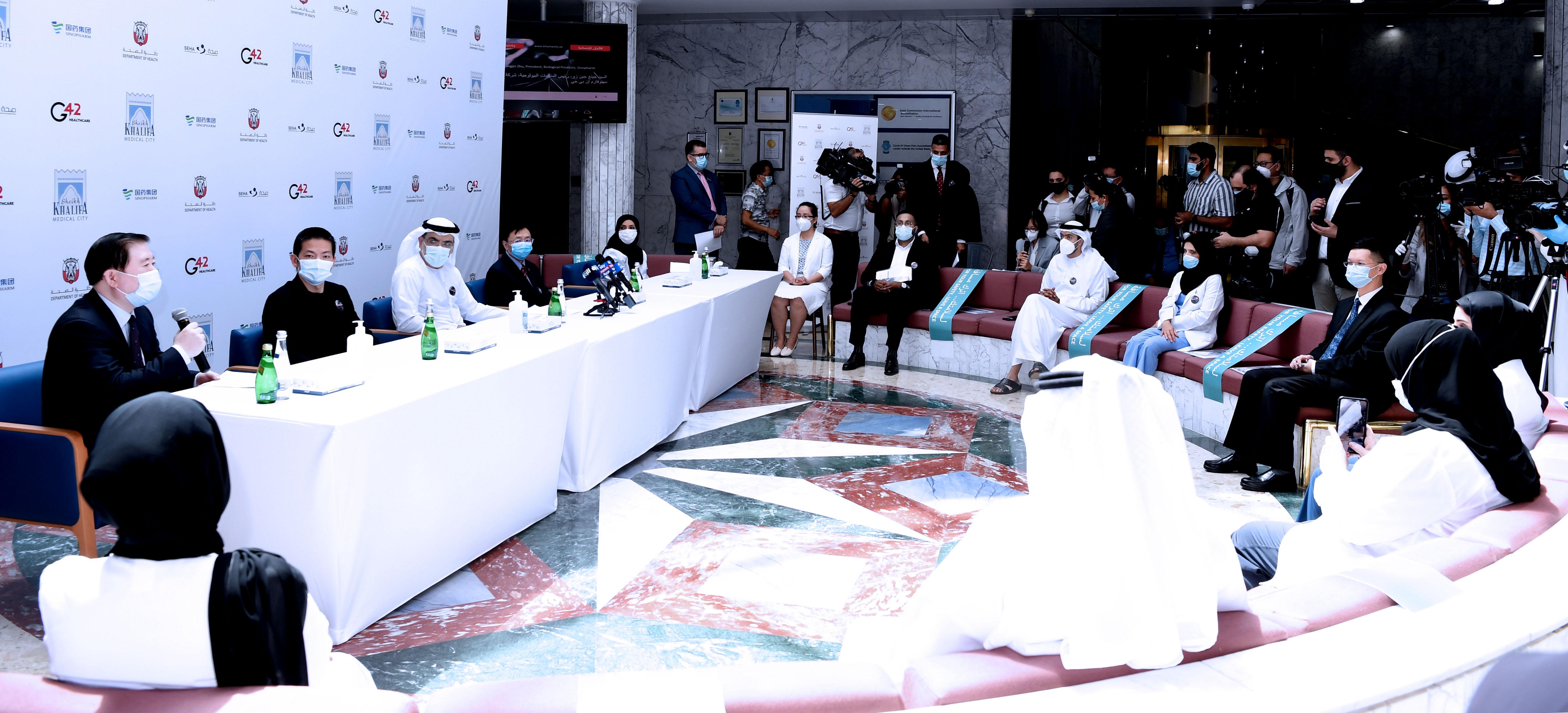 """بدء أولى التجارب السريرية العالمية للمرحلة الثالثة من لقاح محتمل لـ """" كوفيد-19 """" في الإمارات"""