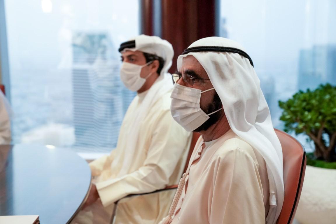 محمد بن راشد يطلع على خريطة طريق الريادة في مجال الطاقة والبنية التحتية والإسكان والنقل