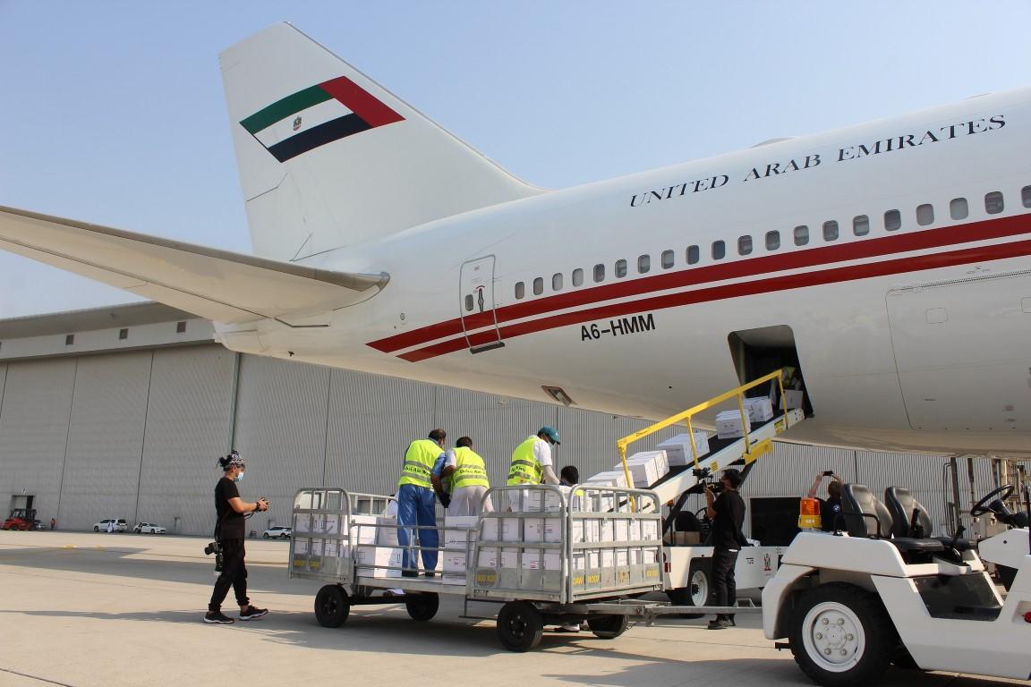 بناء على توجيهات محمد بن راشد.. الإمارات ترسل مساعدات طبية عاجلة إلى الشعب اللبناني
