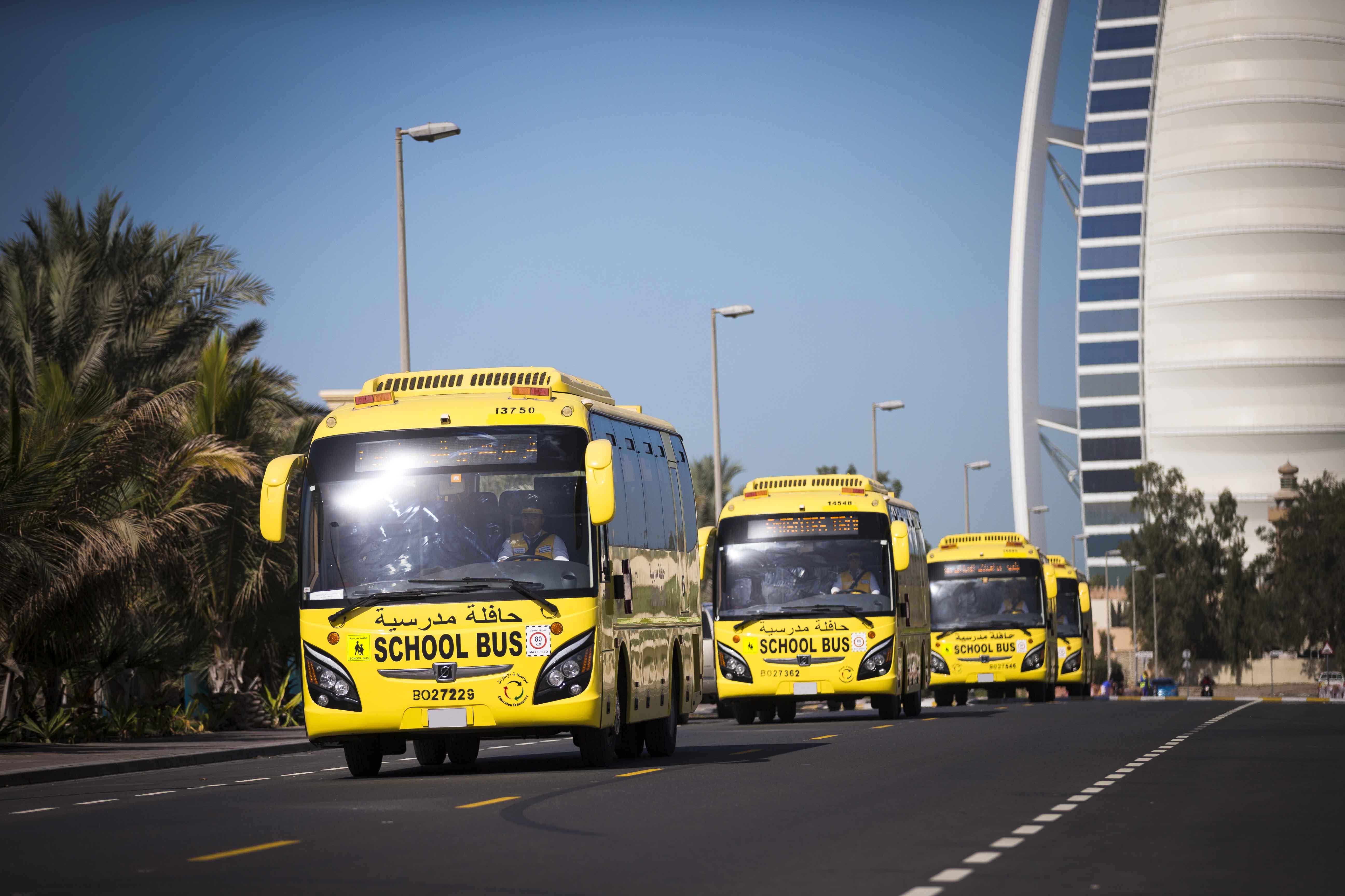 مواصلات الإمارات تستعد لنقل 265 ألف طالب وطالبة مع انطلاق العام الدراسي الجديد