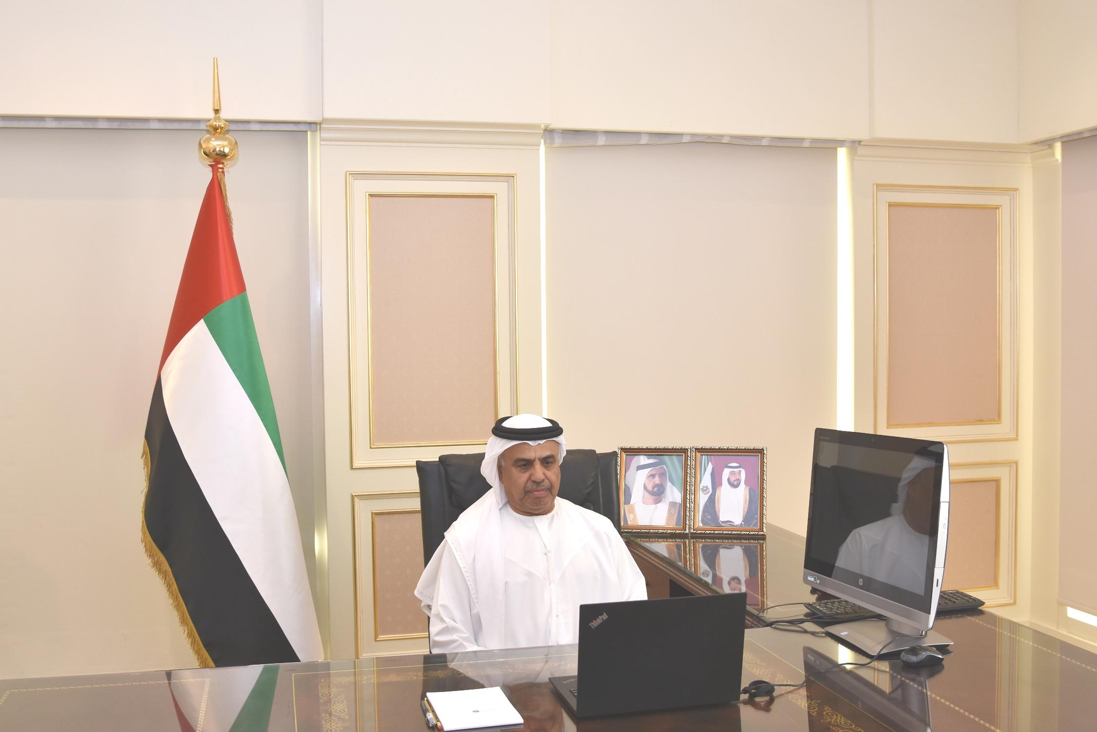 """مجلس إدارة """" التنافسية والإحصاء"""" يبحث جهود تعزيز تنافسية الإمارات بالشراكة بين الحكومة والقطاع الخاص والمجتمع"""
