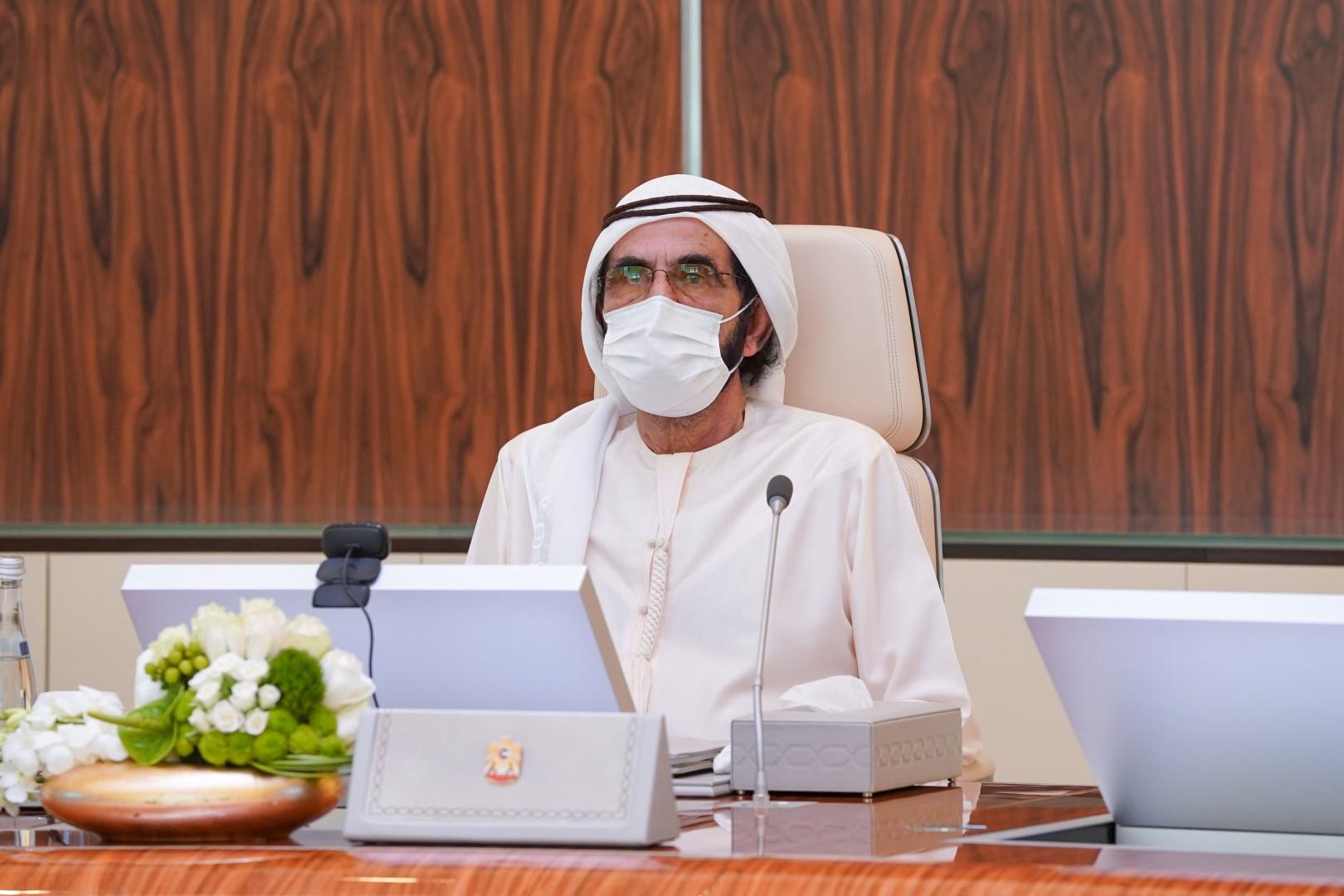 محمد بن راشد يترأس اجتماع مجلس الوزراء ويعتمد 4هياكل تنظيمية جديدة لوزارات اتحادية ويستعرض نتائج تنافسية دولة الإمارات