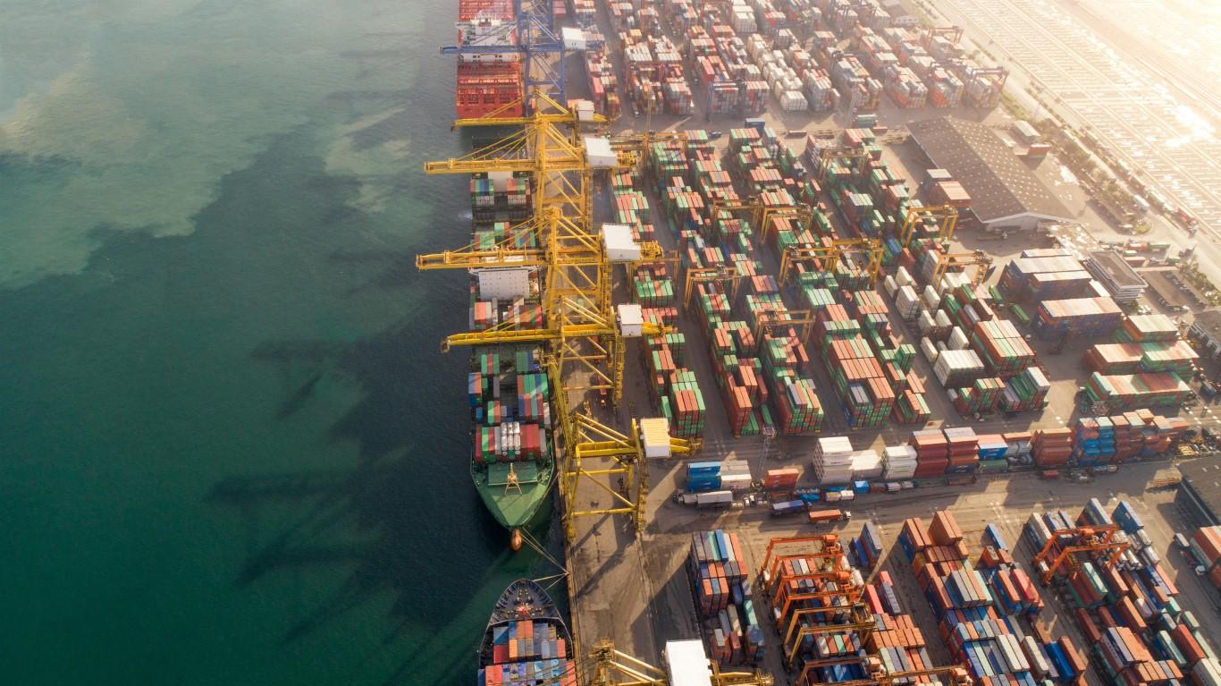 58 في المائة حصة الصادرات الصناعية من إجمالي صادرات رأس الخيمة خلال 2019