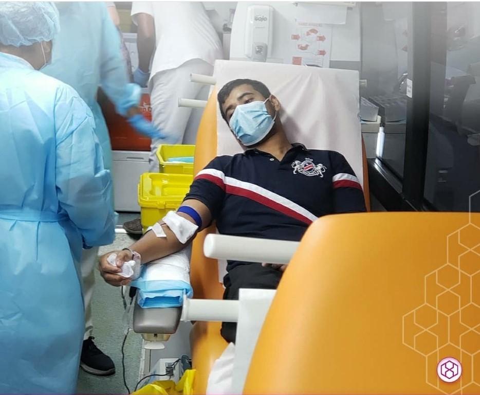 """مجموعة """"ام بي اف هيلث اسكوير"""" الإماراتية تنظم حملة للتبرع بالدم"""
