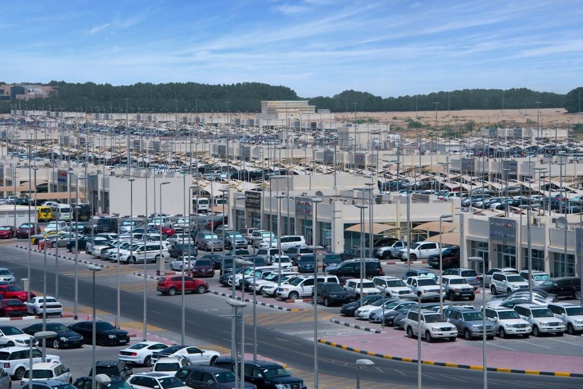99  بالمائة نسبة الإشغال في سوق الحراج للسيارات بالشارقة