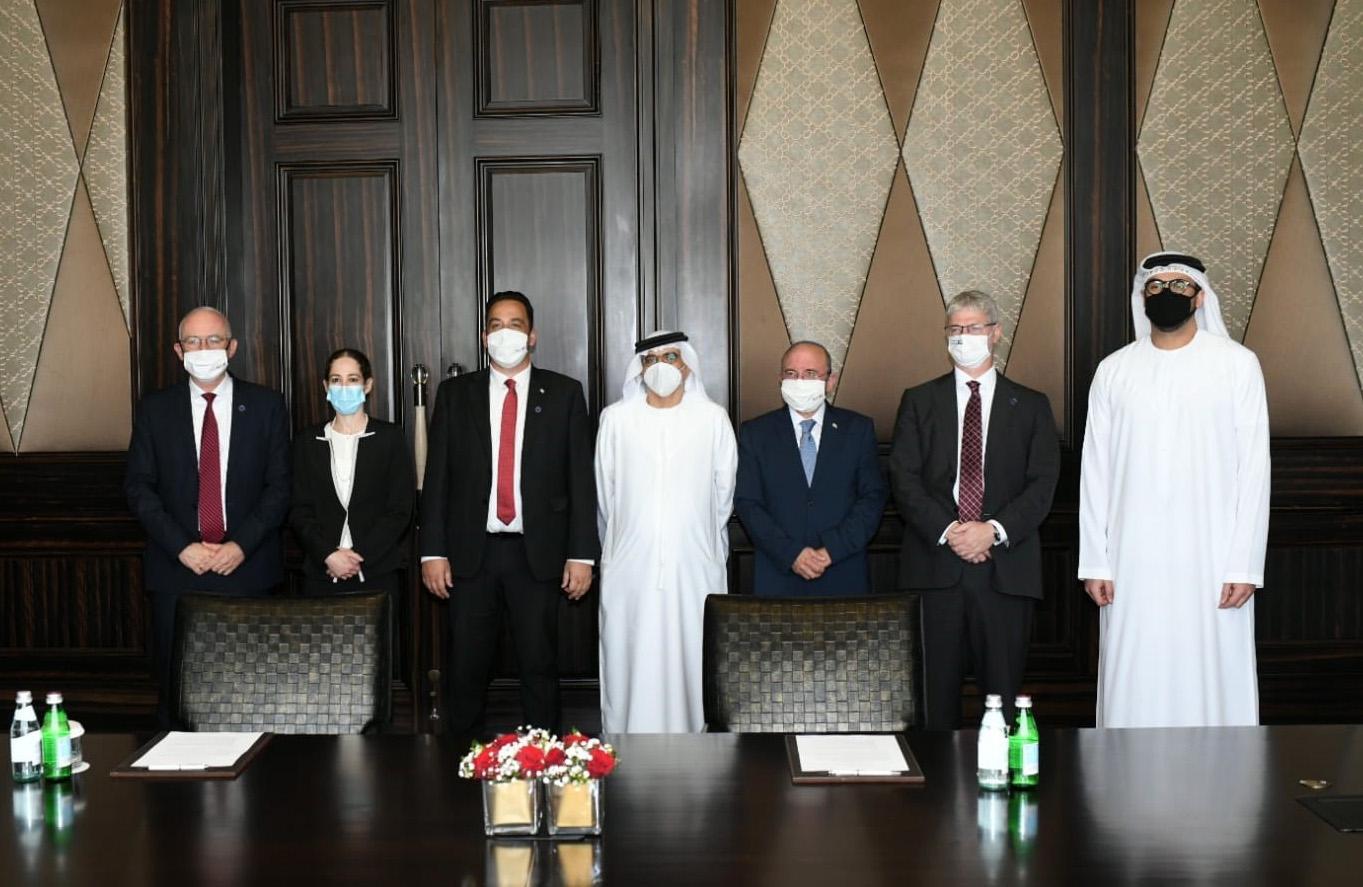 الإمارات و إسرائيل تتفقان على إنشاء لجان ثنائية للتعاون في القطاع المصرفي و المالي