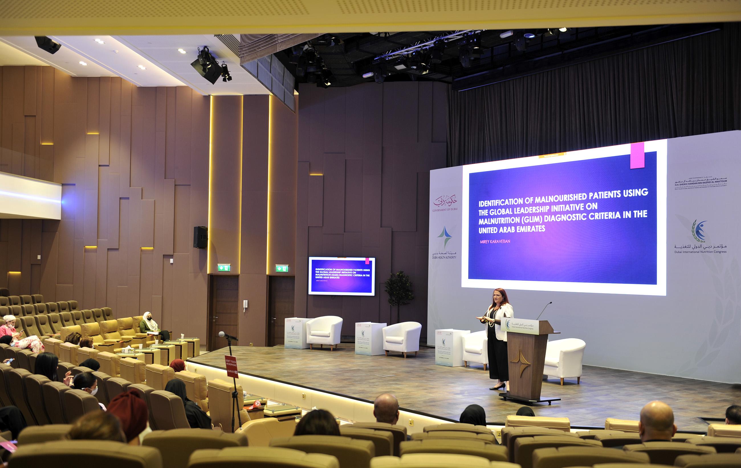 مؤتمر دبي الدولي للتغذية يوصى بتحسين نمط الحياة وتعزيز جهاز المناعة