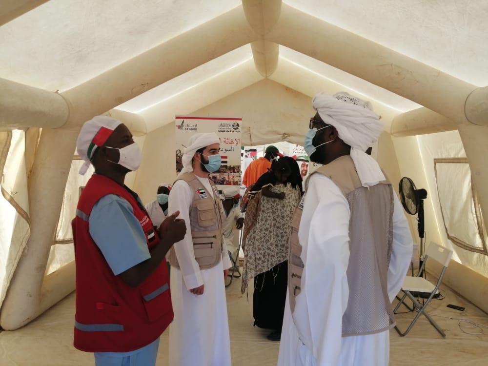 644 أسرة من ضحايا الفيضانات بالسودان تستفيد من مساعدات