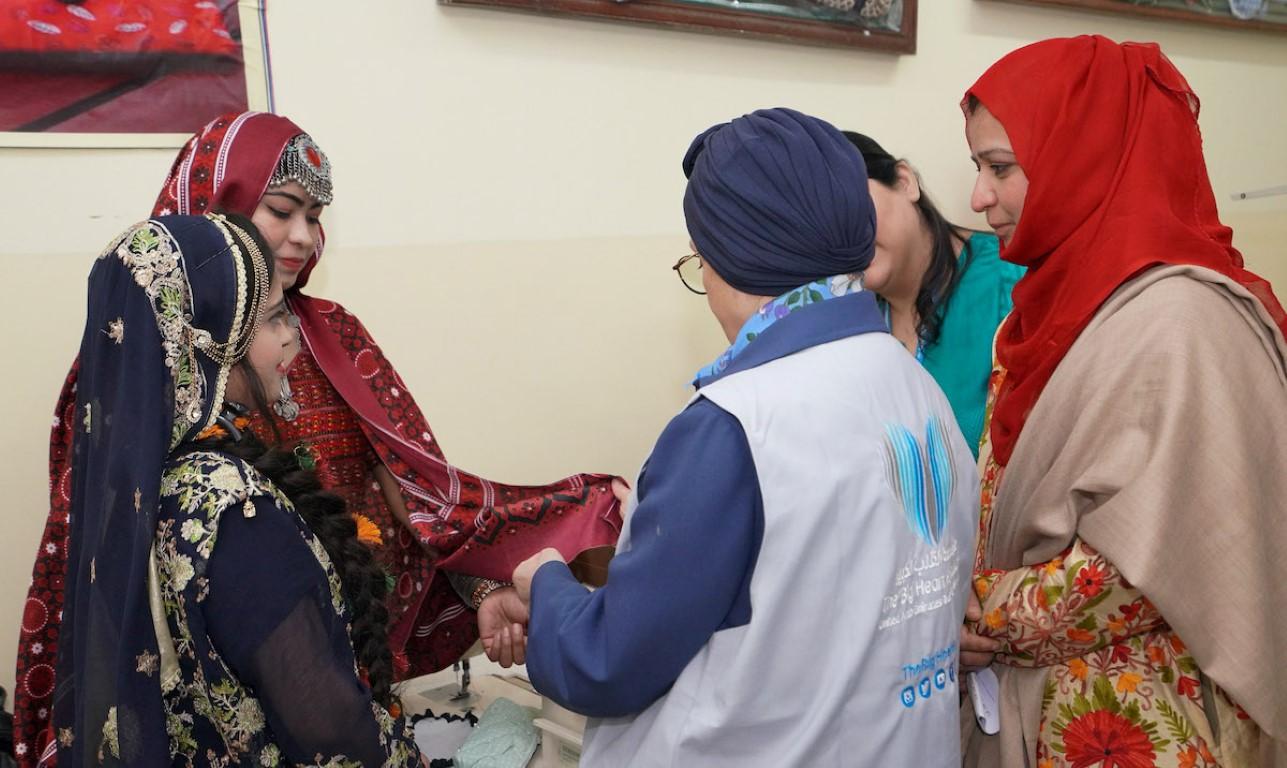 """""""القلب الكبير"""" تطلق خمسة مشاريع إنسانية في باكستان"""