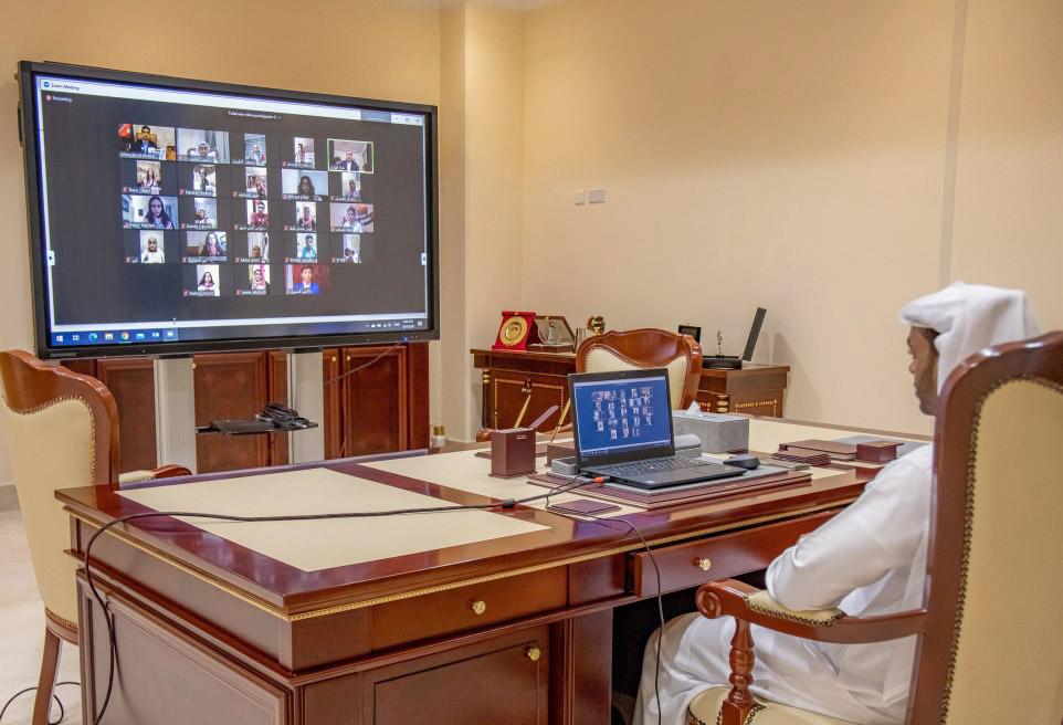 الباروت يشارك افتراضيا في افتتاح أعمال الدورة الثانية للبرلمان الأردني للطفل